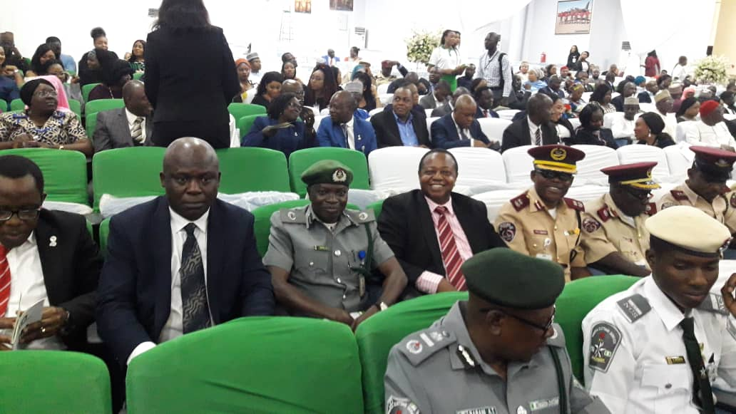 Cross-section of Officials from Federal Road Safety Corps